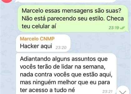 Hacker invade grupo do CNMP no Telegram