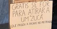 Estudantes portugueses oferecem pedras para serem atiradas em alunos brasileiros