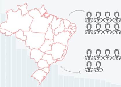 Paraná é o Estado com menos defensores públicos por habitante no Brasil