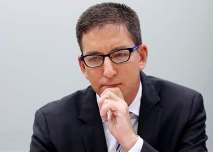 Partido pede no STF suspensão de suposta investigação contra Glenn Greenwald