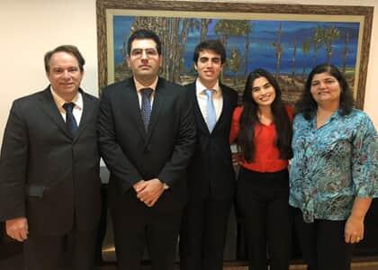 Conheça a família dos advogados mais jovens do Brasil