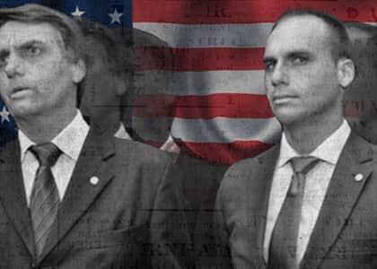 Bolsonaro e filho são intimados para explicarem nomeação à embaixada nos EUA